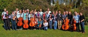 Bild: Orchestervereinigung Sindelfingen: Tuba und Orchester