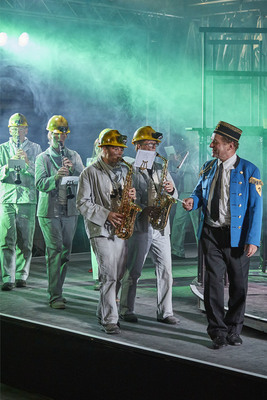 Bild: Brassed Off - Theater Lindenhof