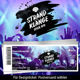 Bild: Strandklänge Open Air 2019 - CAMPING-TICKET