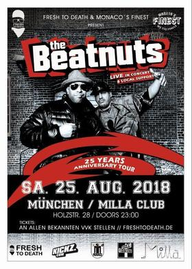 Bild: The Beatnuts Live - * 25 Years Anniversary Tour