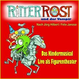 Bild: Ritter Rost und der Vampir - Das Kindermusical als Figurentheatet
