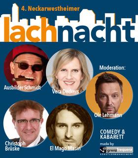 Bild: Vierte Neckarwestheimer Lachnacht - fünf Mal Comedy in einem! - Ole Lehmann und Gäste