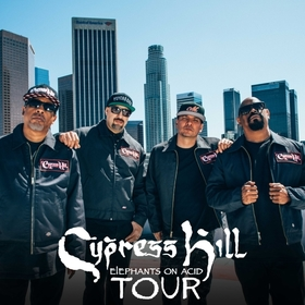 Bild: CYPRESS HILL - Elephants on Acid Tour 2018
