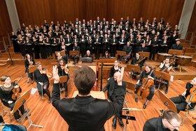 Bild: J.S. Bach Johannespassion - Freiburger Bachchor und Freiburger Bachorchester