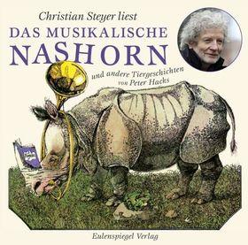 Bild: Christian Steyer liest das musikalische Nashorn