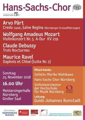 Bild: Starke Kontraste - Suggestive Klangmalerei - Sinfonieorchester der Hochschule für Musik Nürnberg