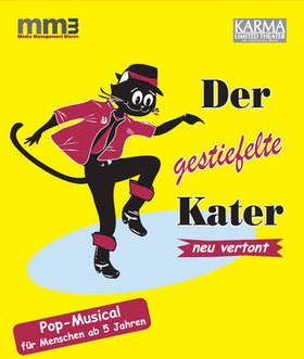 Bild: Der gestiefelte Kater - Pop-Musical nach dem Märchen der Gebrüder Grimm