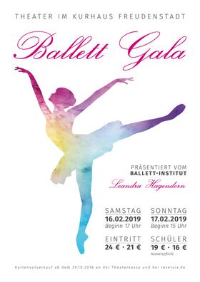 Bild: Ballett-Gala - präsentiert vom Ballett-Institut Leandra Hagendorn Freudenstadt