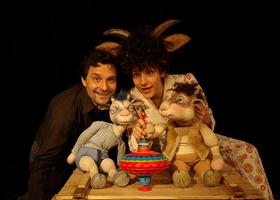Bild: Der Wolf und die kleinen Geißlein - Theater für Kinder ab 4 Jahren