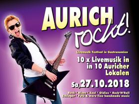 Bild: AURICH ROCKT! - Die Nacht der Bands Partynacht in Aurich