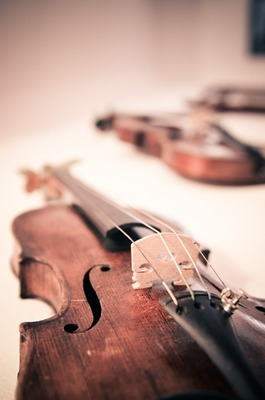 Bild: Ein Himmel voller Geigen - Abschlusskonzert des Meisterkurses Violine