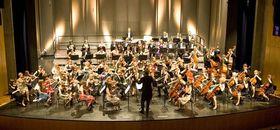 Bild: Junge Philharmonie Oberschwaben - Leitung: Alban Beikircher