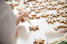Bild: In der Weihnachtsbäckerei ...