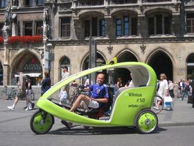 Bild: Die Velotaxi München Highlights-Tour