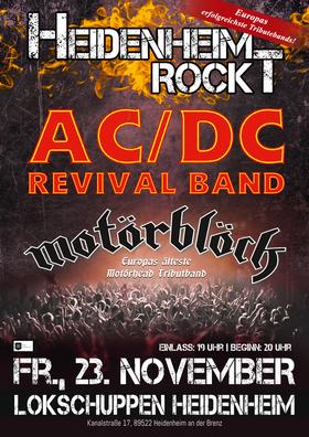 Bild: AC/DC Revival Band  & Motörblöck - Heidenheim Rockt