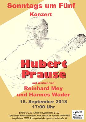 Bild: Sonntags Um Fünf: Reinhard Mey und Hannes Wader - Konzert