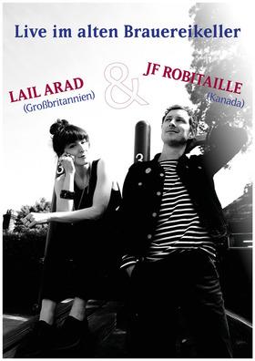 Bild: Live im alten Brauereikeller - Lail Arad & JF Robitaille