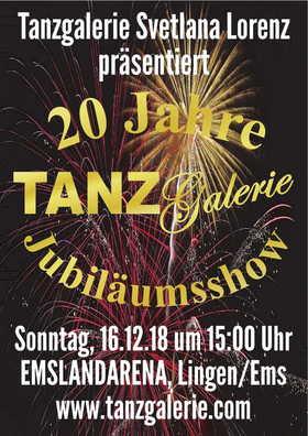 Bild: Tanzgalerie 20 Jahre Jubiläumsshow