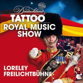 Deutschland Military Tattoo auf der Loreley 2019