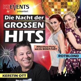 Bild: Die Nacht der großen Hits - Kerstin Ott - RotBlond - DJ Bonapart