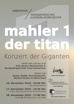 Bild: Mahler 1 - Der Titan - Konzert der Giganten