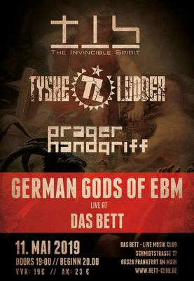 The Invincible Spirit, Tyske Ludder & Prager Handgriff - German Gods of EBM