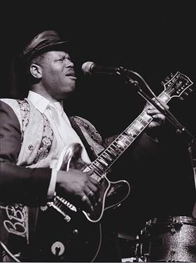 Bild: Bluesnacht Saron Crenshaw