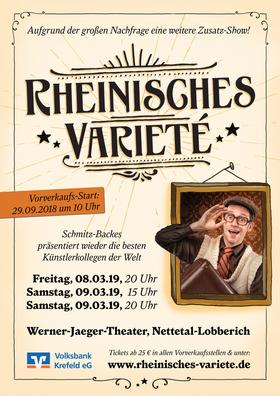 Bild: Rheinisches Varieté 2019 - Schmitz-Backes präsentiert die besten Künstlerkollegen der Welt