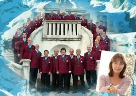 Bild: Südtiroler Weihnacht - Konzert mit dem Trentiner Bergsteigerchor, Moderation Sabine Sauer