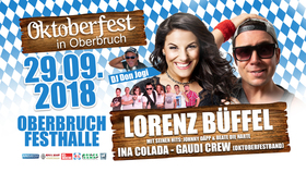 Bild: 4. Oktoberfest in Oberbruch - mit Lorenz Büffel, Ina Colada, Oktoberfestband
