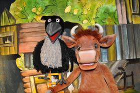 Bild: MAMA MUH – die verrückteste Kuh der Welt - von Jujja Wieslander und Sven Nordqvist