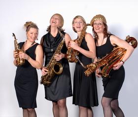 Bild: sistergold - Glanzstücke - Vier Frauen, vier Saxophone - ein Sound