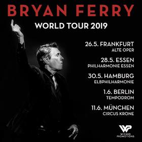 BRYAN FERRY - World Tour 2019