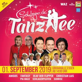 Bild: Schlager.de - Tanztee - Mit den Amigos, Fantasy, Olaf dem Flipper, Christian Lais u.a.