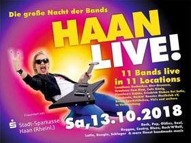Bild: HAAN LIVE! - 13 internationale Bands in 11 Lokalen