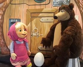 Bild: Das Bilderbuchtheaater - Mascha und der Bär