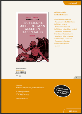 Bild: Heiko Hesse - Buchpräsentation: - Teuflische Orte...