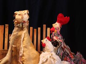 Bild: Hannelore Katz, ein kleines Katzenabenteuer - Puppentheater Volkmar Funke