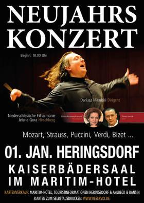 Bild: Neujahrskonzert in Heringsdorf - Niederschlesische Philharmonie Jelenia Góra (Hirschberg)