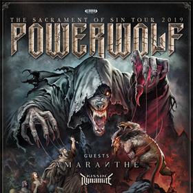 Bild: Powerwolf + Amaranthe  + Kissin' Dynamite - présentés par Artefact Prl en accord avec Live Nation