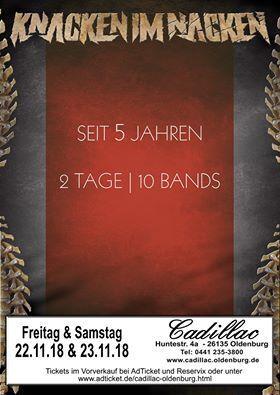 Knacken im Nacken Festival - Kombi-Ticket