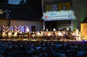 Bild: Heeresmusikkorps Veitshöchheim - Frankenfestspiele Röttingen
