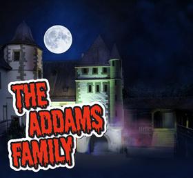 THE ADDAMS FAMILY - Musical-Comedy, Buch von Marshall Brickmann und Rick Elice/Musik und Songtexte von Andrew Lippa