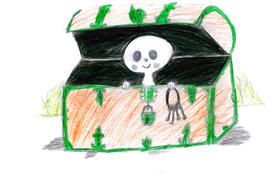 Bild: Das kleine Gespenst -