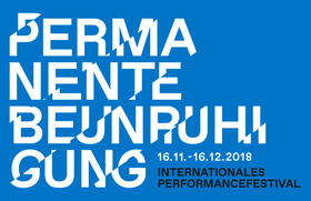 Bild: Permanente Beunruhigung - Internationales Performancefestival