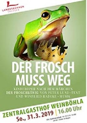 Bild: Der Frosch muss weg - Musicalmärchen LBS