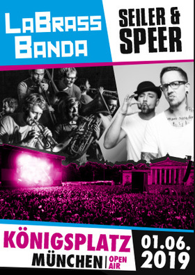 LaBrassBanda + SEILER & SPEER - OPEN AIR 2019