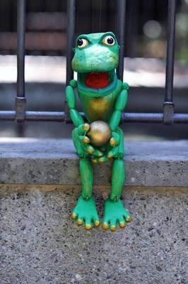 Bild: Froschkönig -