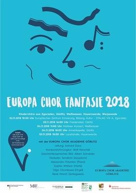 Bild: EuropaChorFantasie 2018 - Kinder treffen gesungenen Jazz