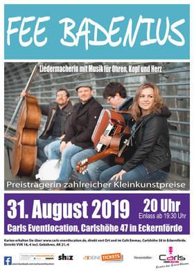 Bild: Fee Badenius - Liedermacherin mit Musik für Ohren, Kopf und Herz